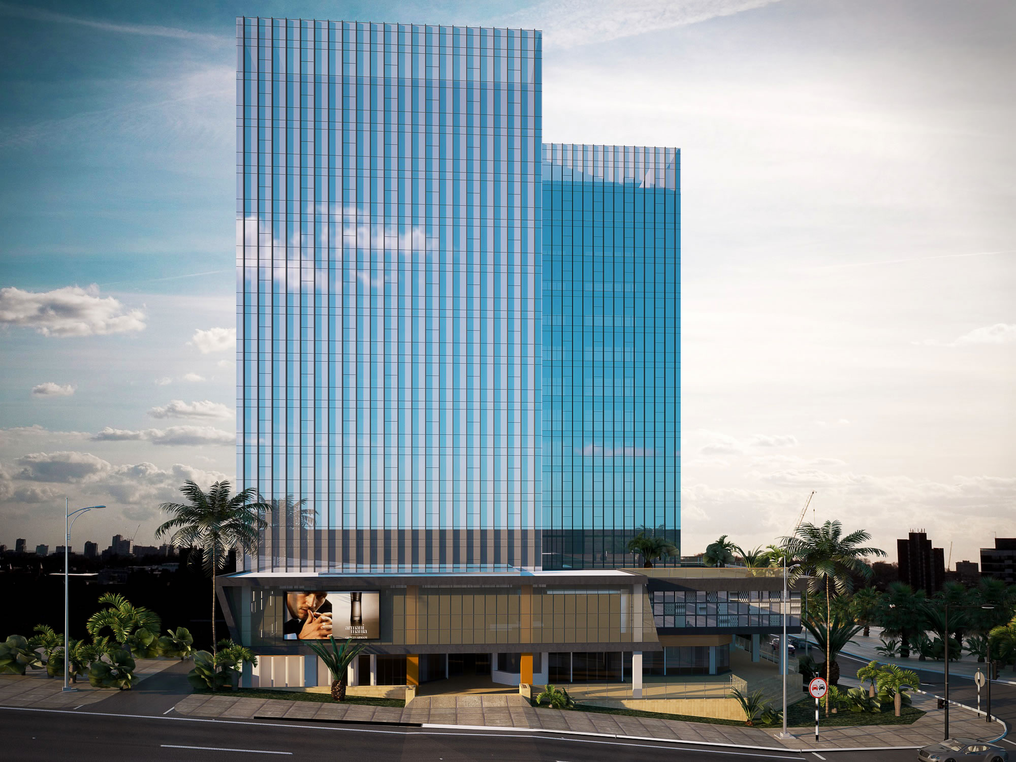 BANQUE POPULAIRE TOWERS, KIGALI-RWANDA