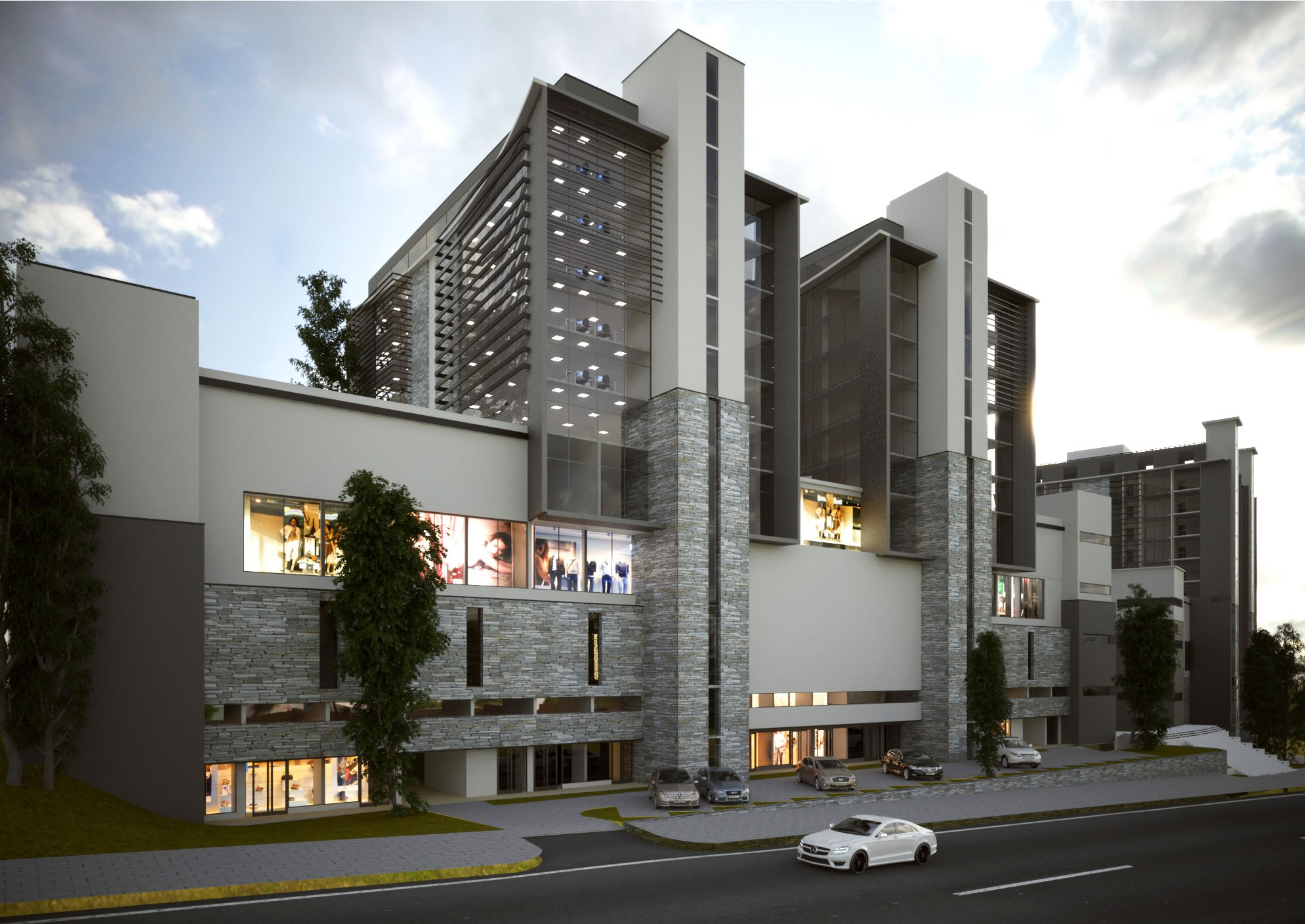 DESIGN AND SUPERVISION OF MIG MIXED USE BUILDING