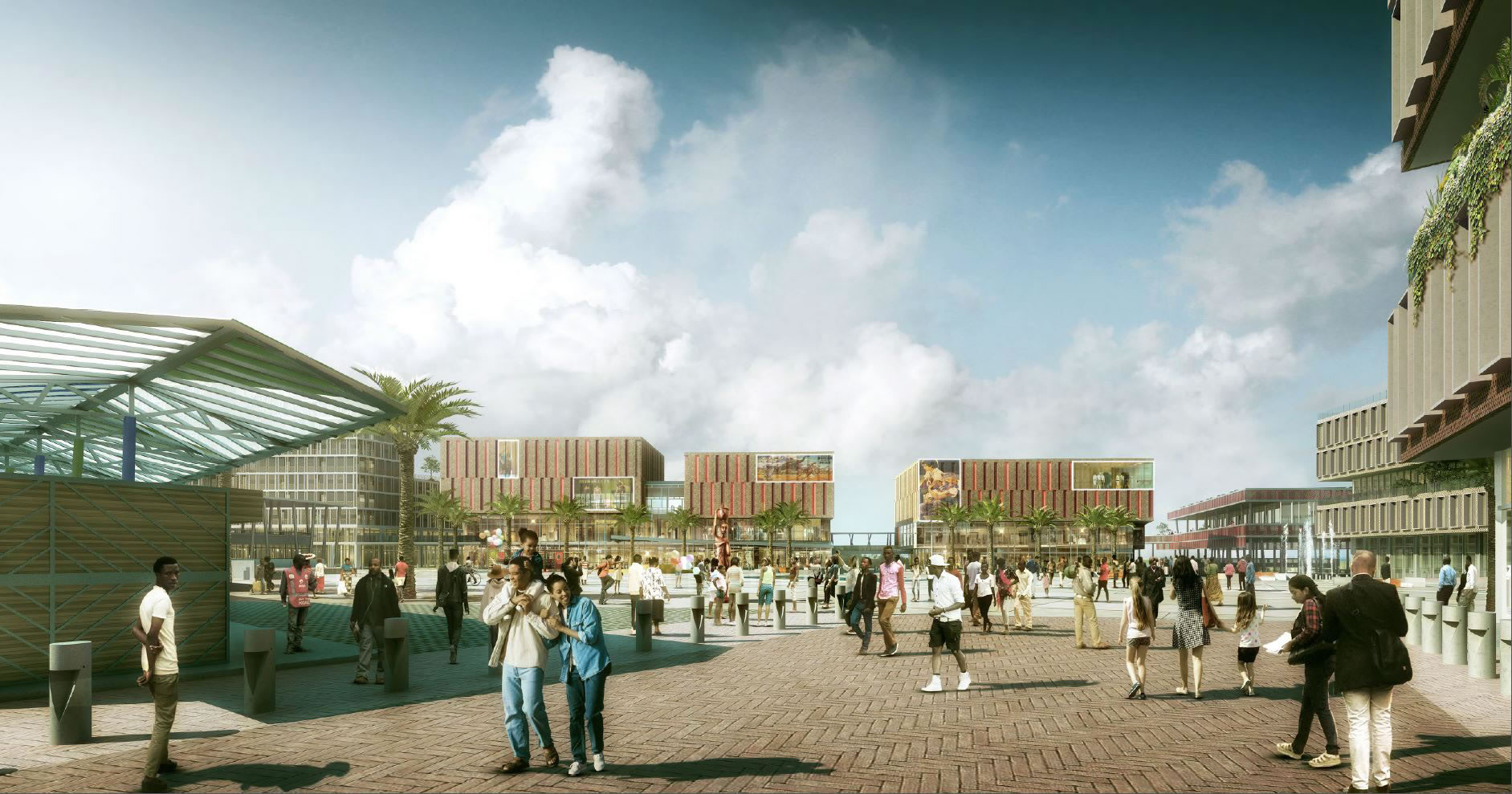 ARCHITECTURAL COMPETITION FOR THE DESIGN OF THE KIMIRONKO COMMERCIAL COMPLEX