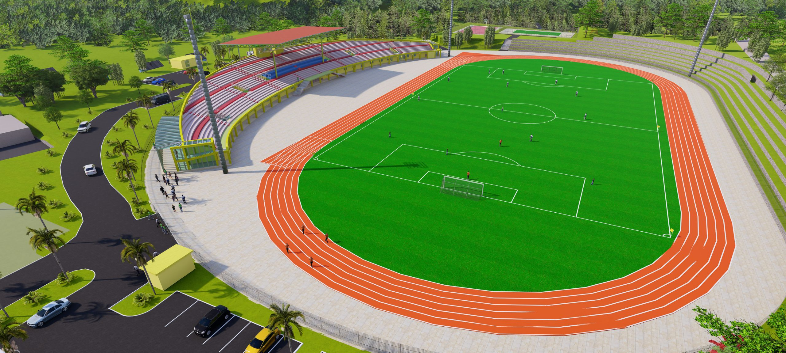 CONSTRUCTION OF NGOMA DISTRICT STADIUM