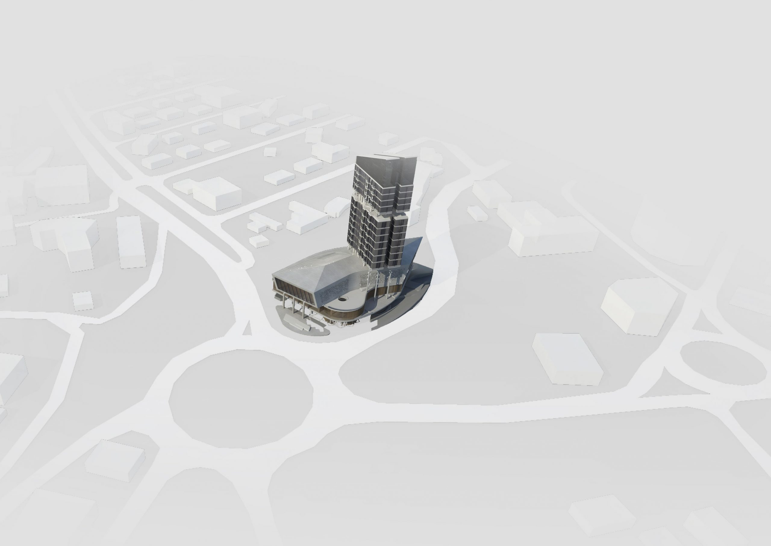ARCHITECTURAL DESIGN COMPETITION OF RSSB - MIXED USE BUILDING